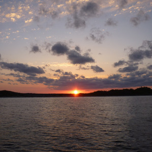 coucher de soleil Exumas