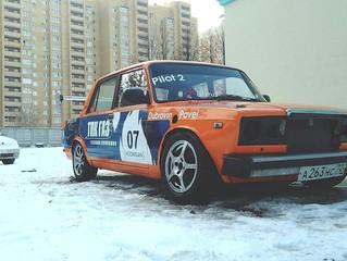 Автомобиль готов к соревнованиям!
