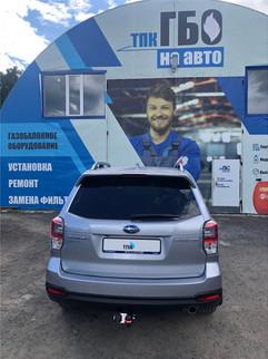 Установка ГБО 4 поколения на Subaru Forester