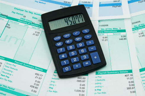 Calculator used for accounting