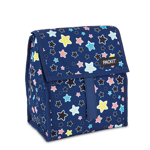 Packit Freezable Lunch Bag, Bright Stars