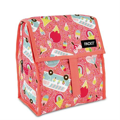 Packit Freezable Lunch Bag, Ice Cream Social