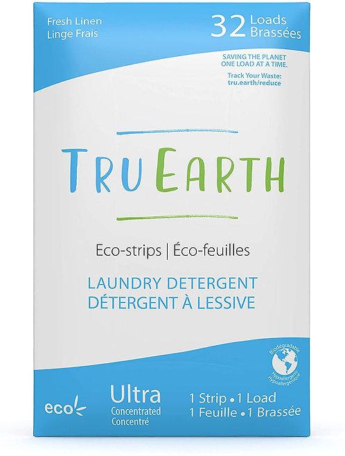 Tru Earth Eco-strips Laundry Detergent (Fresh Linen) - 32 Loads