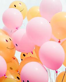 Balões de emoji