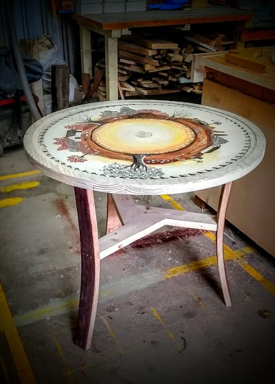 Painted Circular saw table