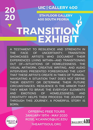 One Heart One Soul Transition Exhibit To
