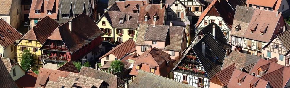 Kaysersberg, magnifique village et son chateau