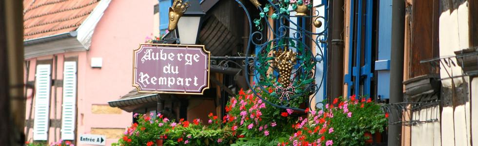 Eguisheim et ses auberges
