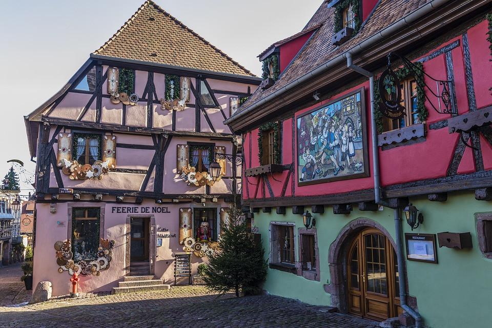 Nos maisons à collombages, tipiquement Alsaciennes