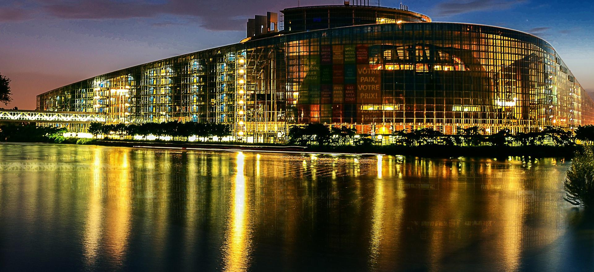 Le parlement Européen à Strasbourg