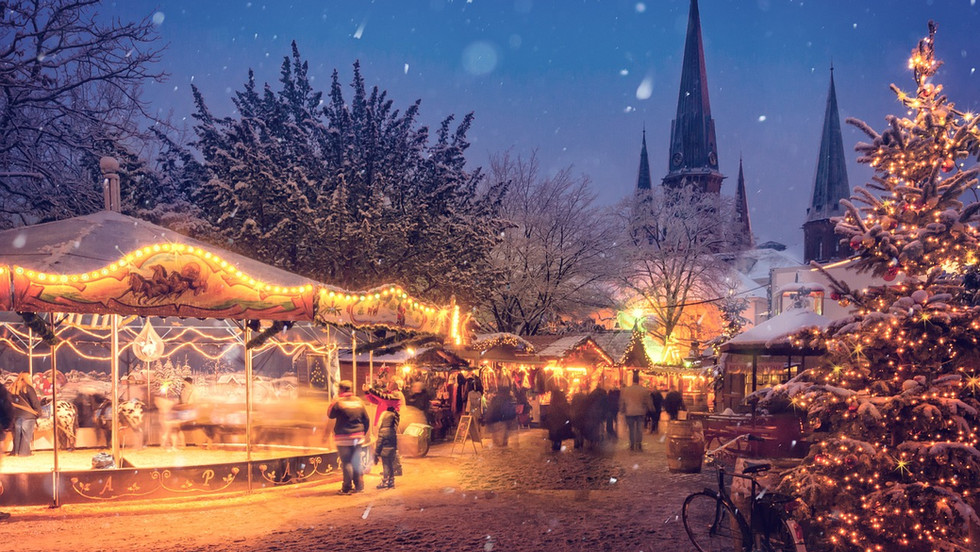 Les marchés de Noël des villes et villages Alsaciens et Allemands