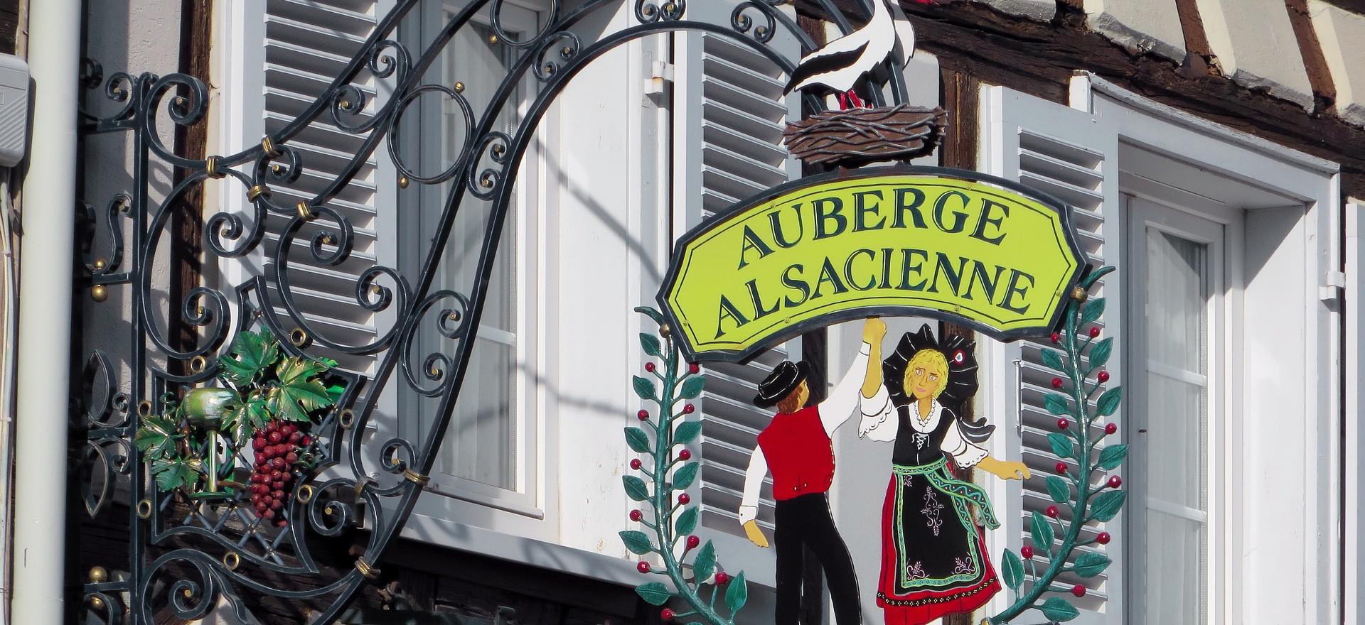 Les auberges Alsaciennes