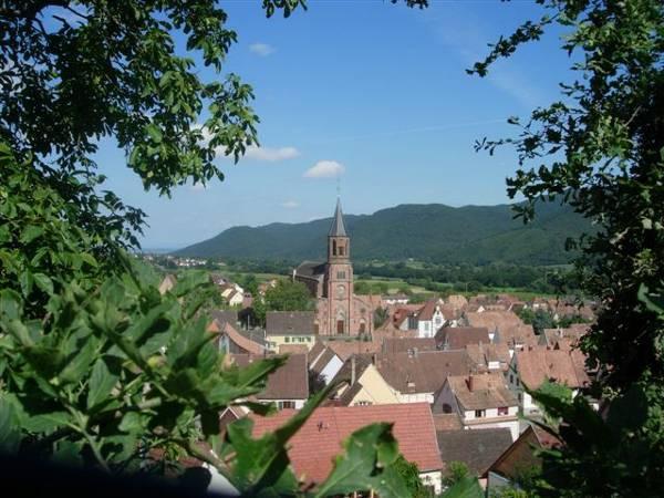 Le joli village de Wihr au Val
