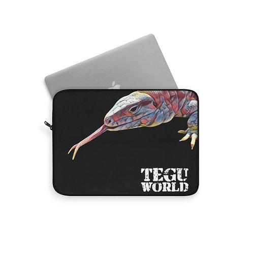 Polar Purple Tegu Laptop Sleeve, Tegu World, Laptop Protector