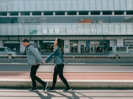 Waltz with me at Shinjuku