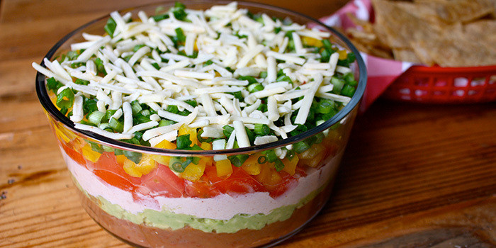 21 Day Fix approved 7 layer dip