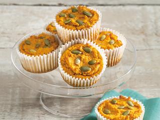 Pumpkin Muffins with Maple Cream Cheese