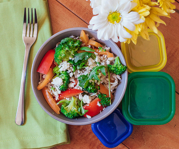 Lipstick And Lunges - Italian Veggie Pasta Salad - 21 Day Fix recipes