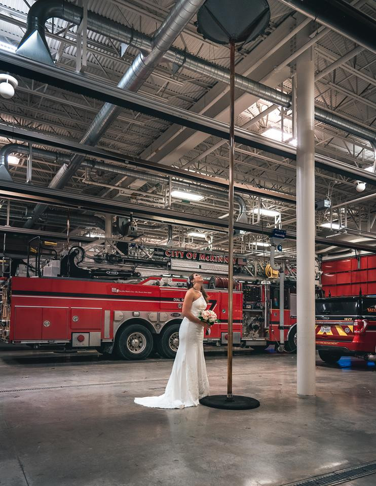 Lipstick and Lunges - Firehouse wedding