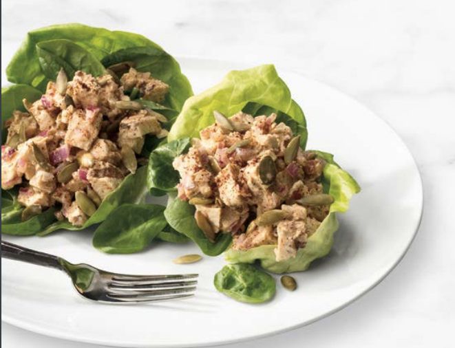 Lipstick And Lunges - Chili Spiced Chicken Salad
