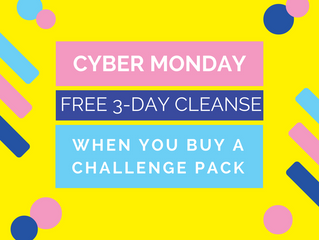 Cyber Monday Deal: $75 off plus FREE 3-Day Kickstart Program