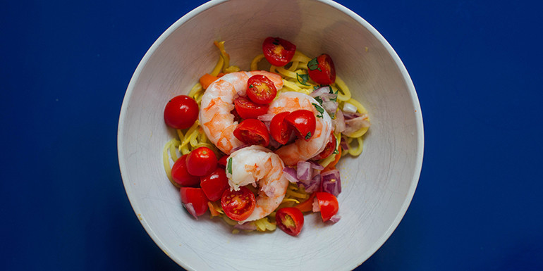 Lipstick And Lunges - Shrimp Pasta - 21 Day Fix dinner recipes