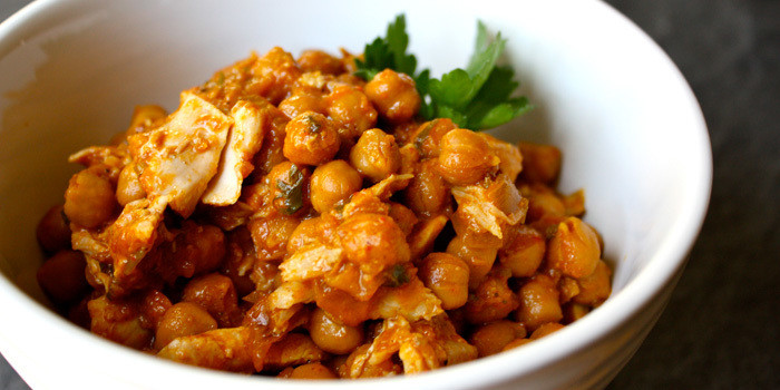 21 Day Fix recipe: Chickpea Curry with Chicken