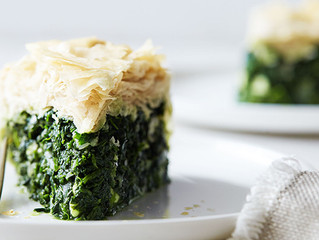 Greek Spinach Pie (Spanikopita)
