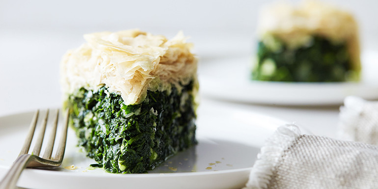 Lipstick And Lunges - Greek Spinach Pie