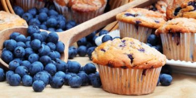 Lipstick And Lunges - Diet Meal Plans - Healthy Blueberry Muffins