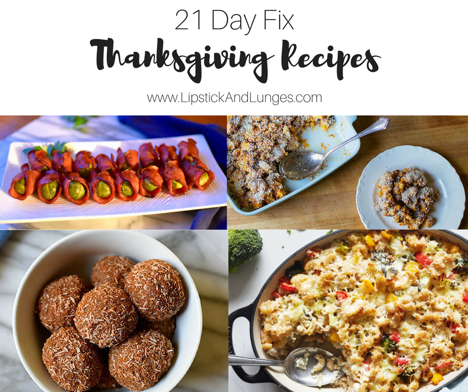 Lipstick And Lunges - Thanksgiving Recipes