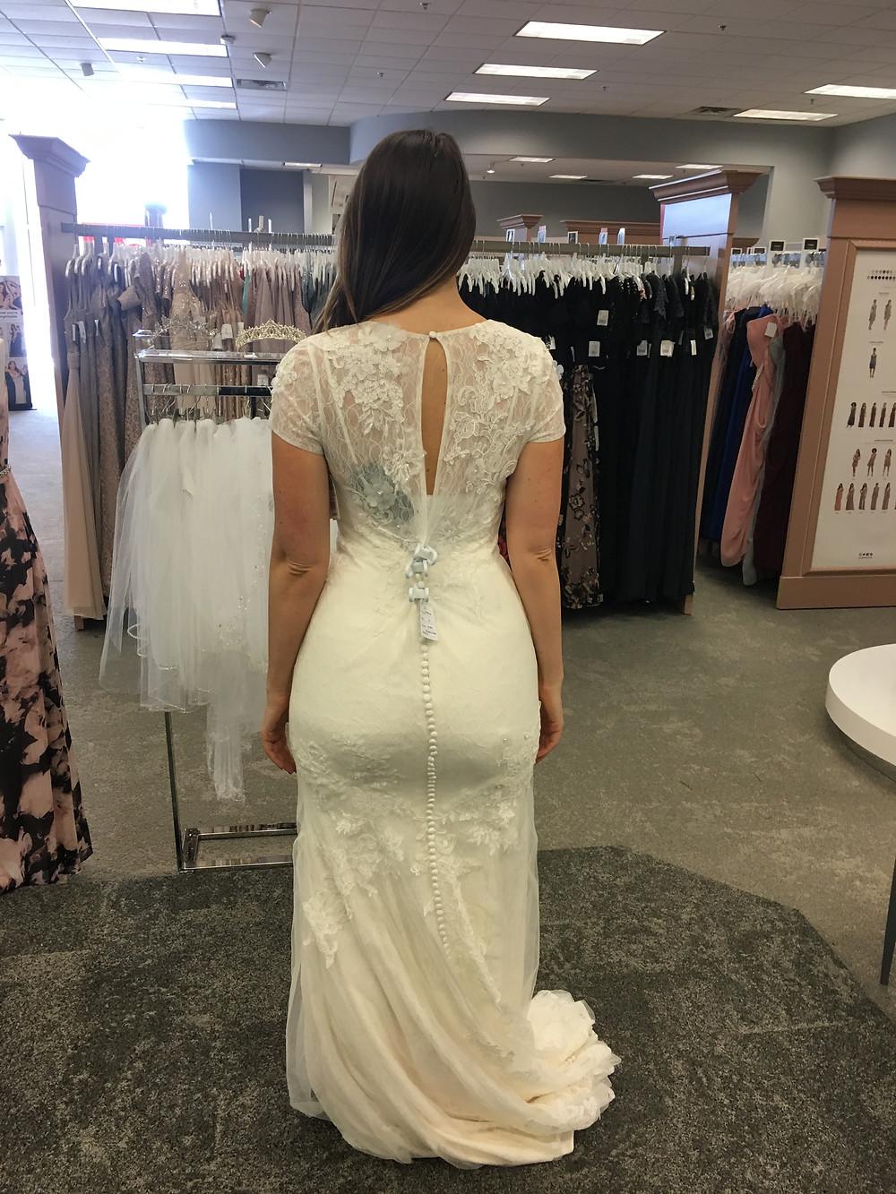 Lipstick and Lunges - Wedding Dress for pear shaped body