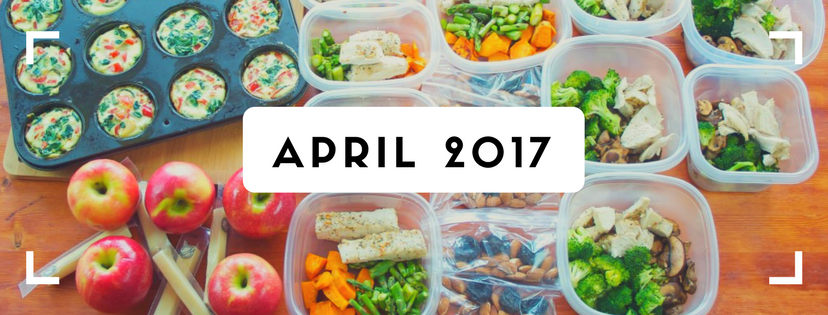 April Clean Eating Challenge - Lipstick And Lunges