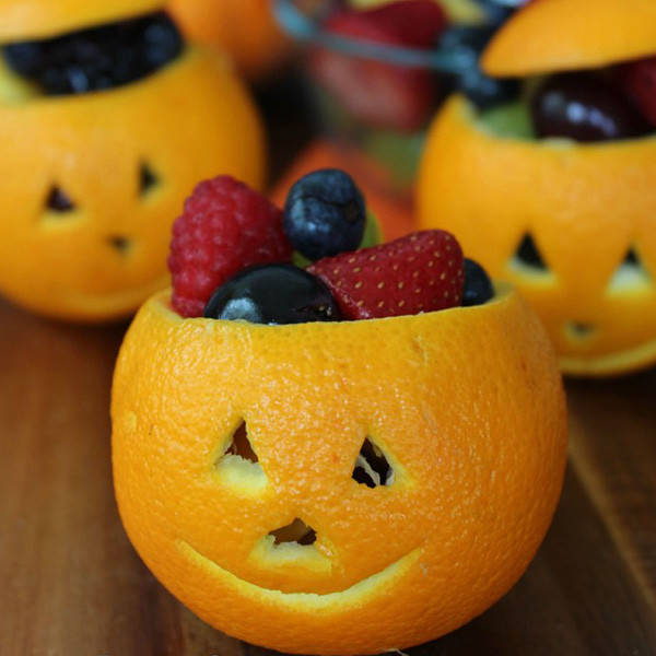 Halloween Fruit Cup