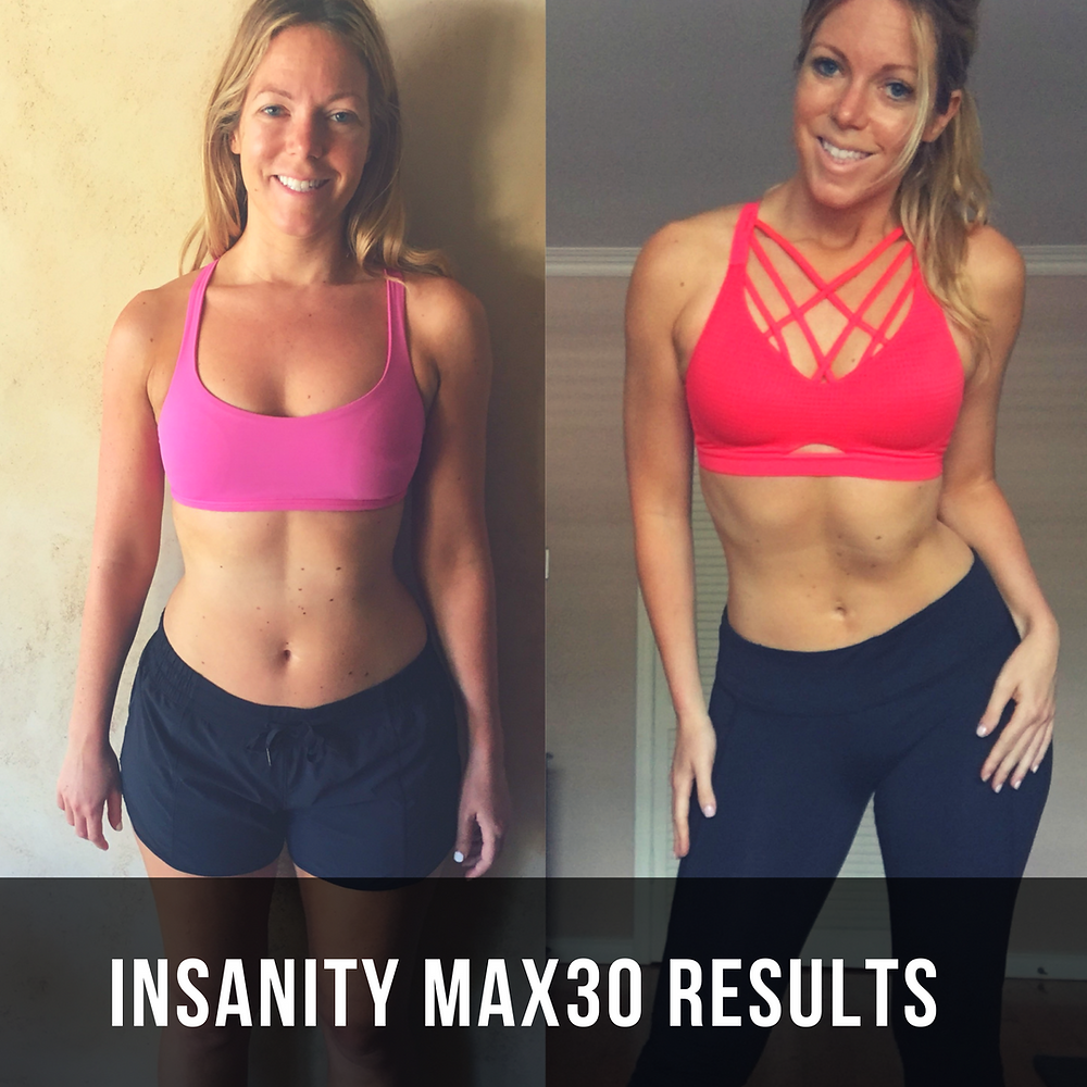 Lipstick And Lunges - Lauren Beley - Insanity Max30 Results