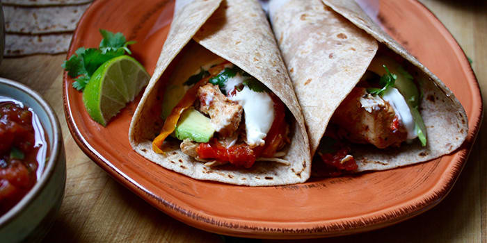 Lipstick And Lunges - 21 Day Fix crockpot recipes - Chicken Fajitas