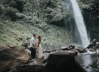 Our second wedding ceremony in Costa Rica | La Fortuna Waterfall Wedding
