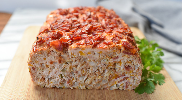Lipstick And Lunges - 21 Day Fix recipes - Bacon Cheeseburger Meatloaf