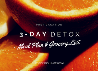 3-Day Diet Plan to Bounce Back after Vacation (or anytime)