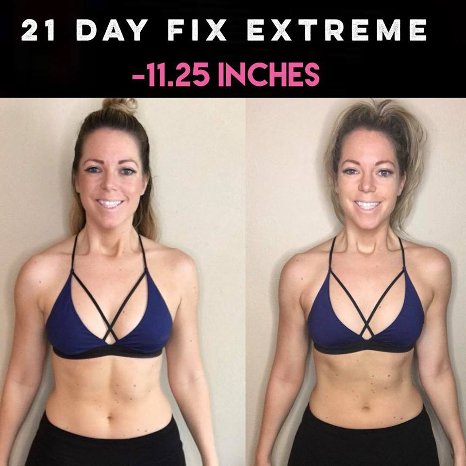 Lipstick And Lunges - 21 Day Fix Extreme Results - Before And After