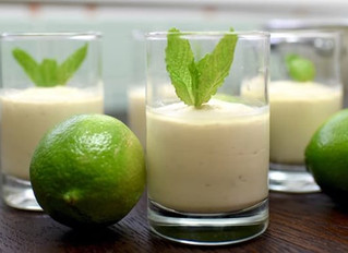 Vegan Lime Cheesecake Cups