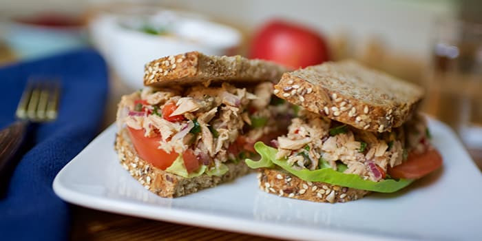 Lipstick and Lunges - 21 Day Fix Lunch recipes - Tuna Salad
