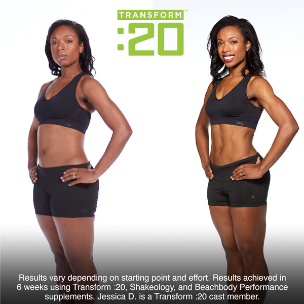 Lipstick and Lunges - Transform20 - Before and After Photos
