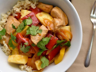 Healthy Sweet and Sour Pork