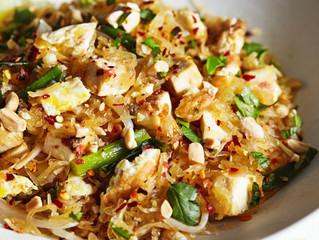 Pad Thai with Spaghetti Squash