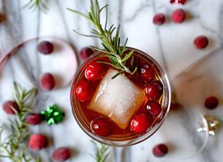 Holiday Cranberry Fizz