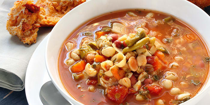 Lipstick And Lunges - 21 Day Fix recipes - Pasta Fagioli soup