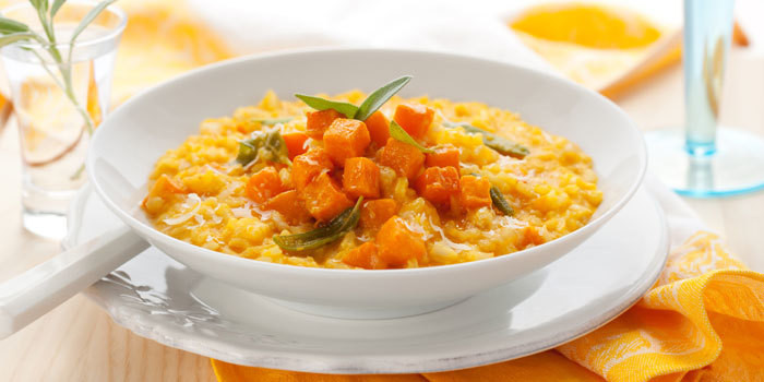 21 Day Fix approved Pumpkin Risotto