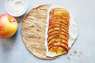 Apple Cinnamon Quesadilla