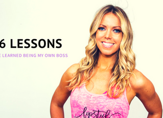 6 Lessons I've Learned Being My Own Boss